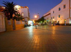 essaouira evening on the street
