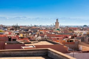 Marrakech Airport taxis to city hotels