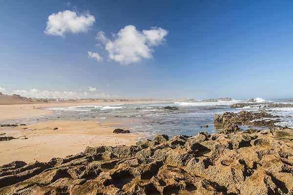 oualidia beach morocco